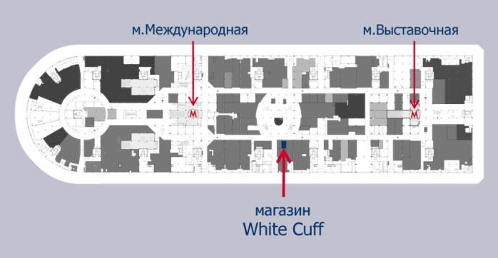Схема расположения магазина в