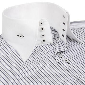 купить приталенную мужскую рубашку.