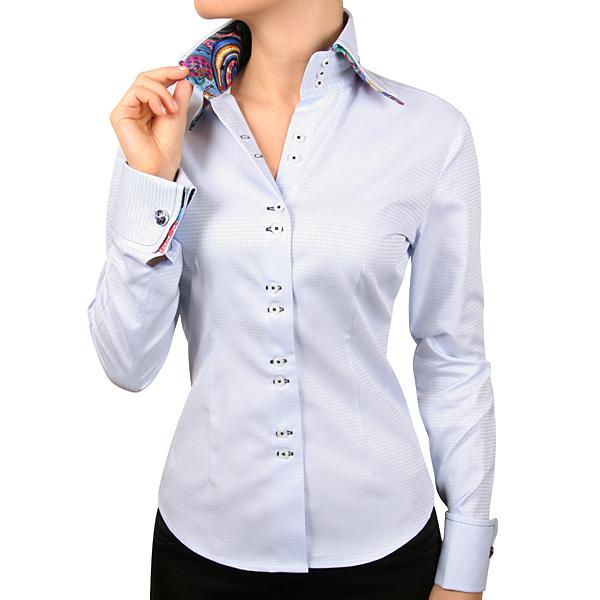 Женская рубашка с запонками